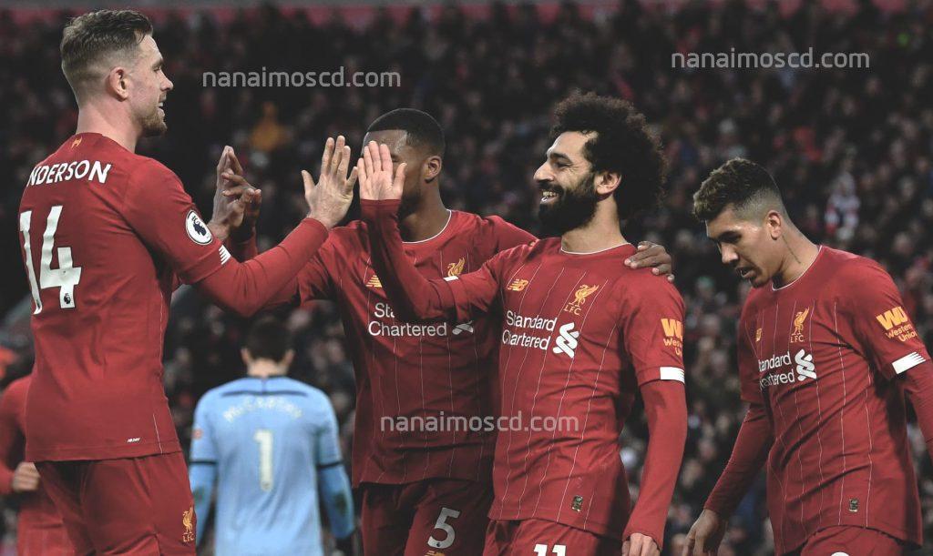 3 2 1024x611 - Liverpool ครองแชมป์พรีเมียร์ลีกเป็นครั้งแรก