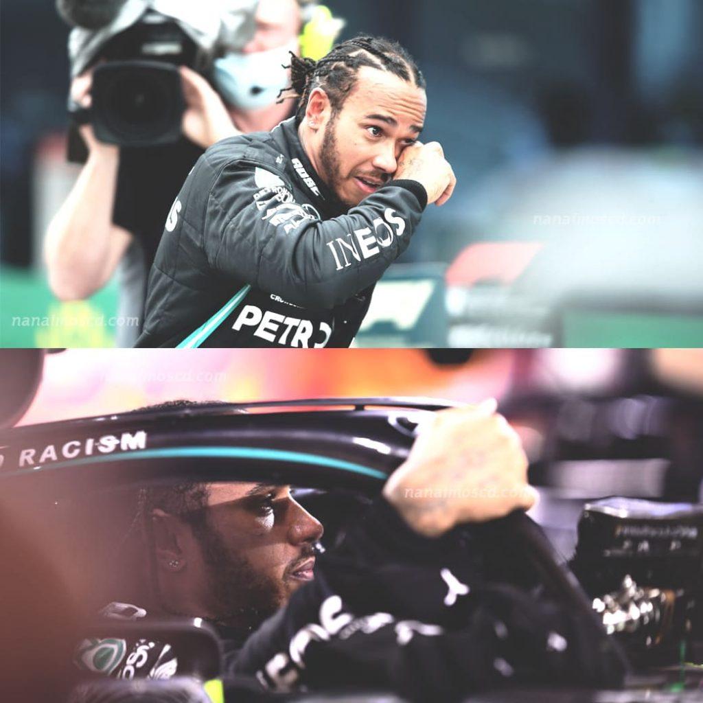 Lewis Hamilton10 1024x1024 - Lewis Hamilton นักแข่ง Formula 1 ลงแข่งเพื่อ 'ผลักดันความเท่าเทียมระหว่างนักแข่งด้วยกัน'