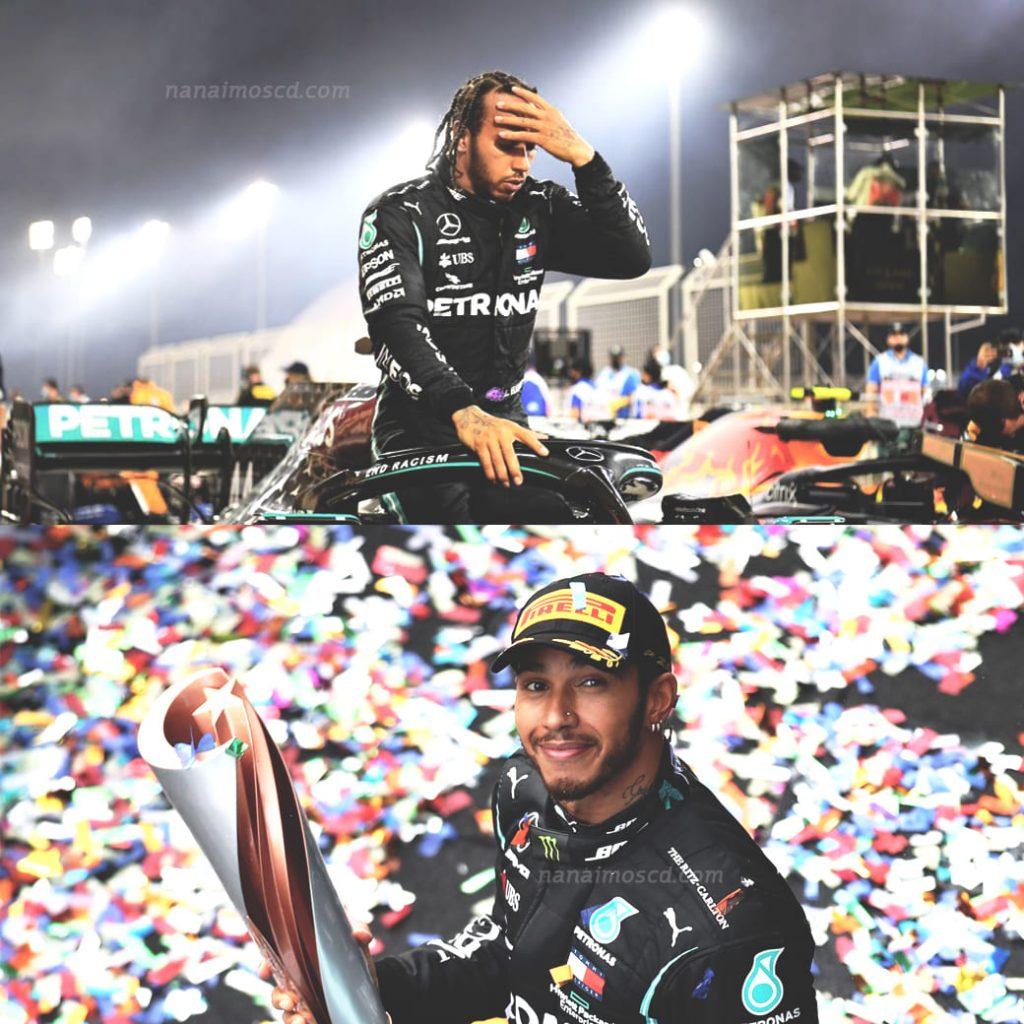 Lewis Hamilton9 1024x1024 - Lewis Hamilton นักแข่ง Formula 1 ลงแข่งเพื่อ 'ผลักดันความเท่าเทียมระหว่างนักแข่งด้วยกัน'
