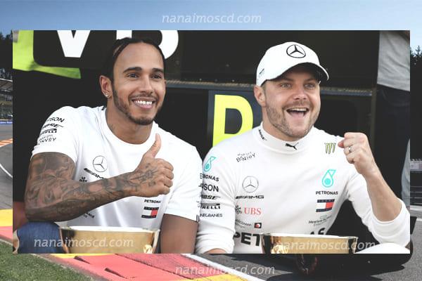 Valtteri Bottas4 - Valtteri Bottas นำหน้า Lewis Hamilton เร็วที่สุดในการฝึกซ้อมครั้งแรก