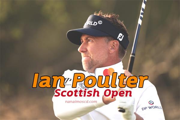 Scottish Open : Ian Poulter ในการแข่งขันขณะที่ลูคัสเฮอร์เบิร์ตนำอยู่ครึ่งทาง