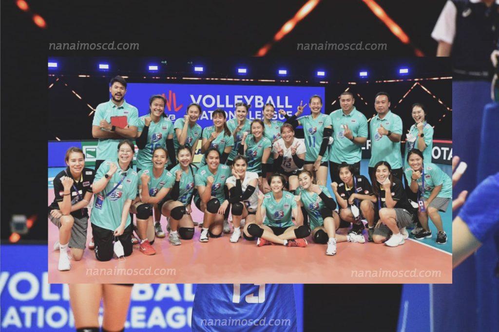 วอลเลย์บอลเนชั่นลีก4 1024x682 - การแข่งขันวอลเลย์บอลเนชั่นลีก 6 เซียนลาทีมชาติไทย